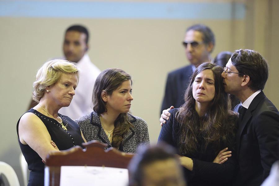 Alan García: Pilar Nores y sus hijos asisten a velatorio