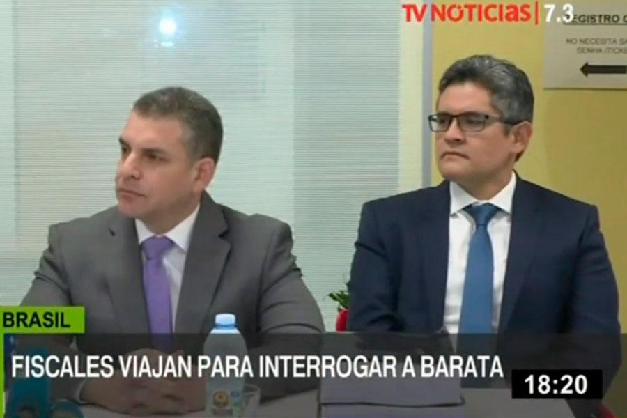 Fiscales y procuradores viajan a Brasil para interrogar a Jorge Barata