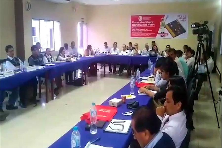 Reunión de trabajo de la Macrorregión Nororiente