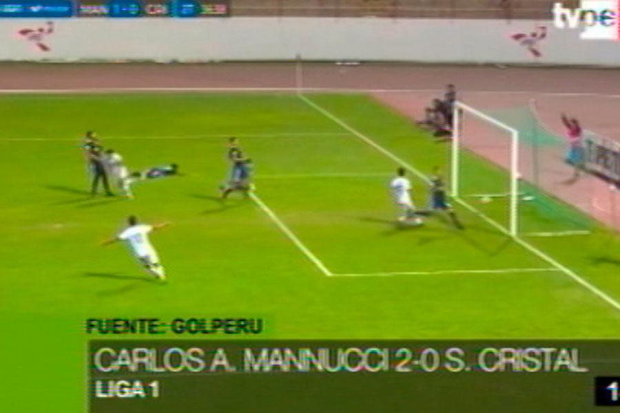 Liga 1: Cristal fue derrotado 2-0 por Mannucci en Trujillo