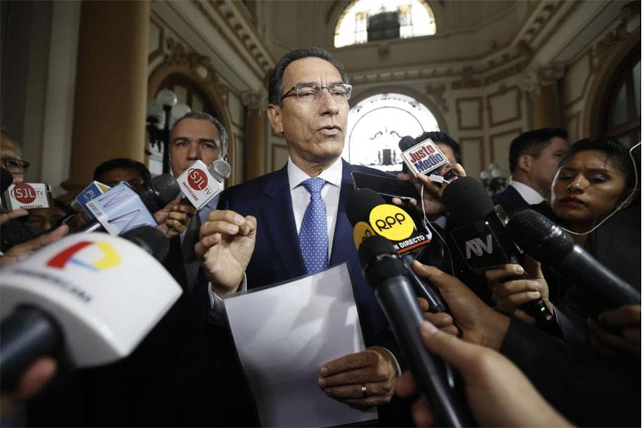Vizcarra: no hay voluntad en Comisión de Constitución para el cambio que el Perú necesita