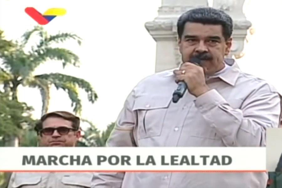 """Maduro ordena capturar a cualquier """"traidor"""" en la Fuerza Armada"""