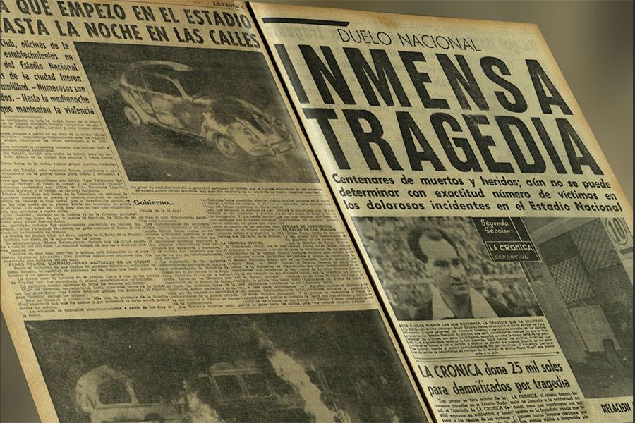 Así lo contamos: la tragedia del Estadio Nacional hace 55 años