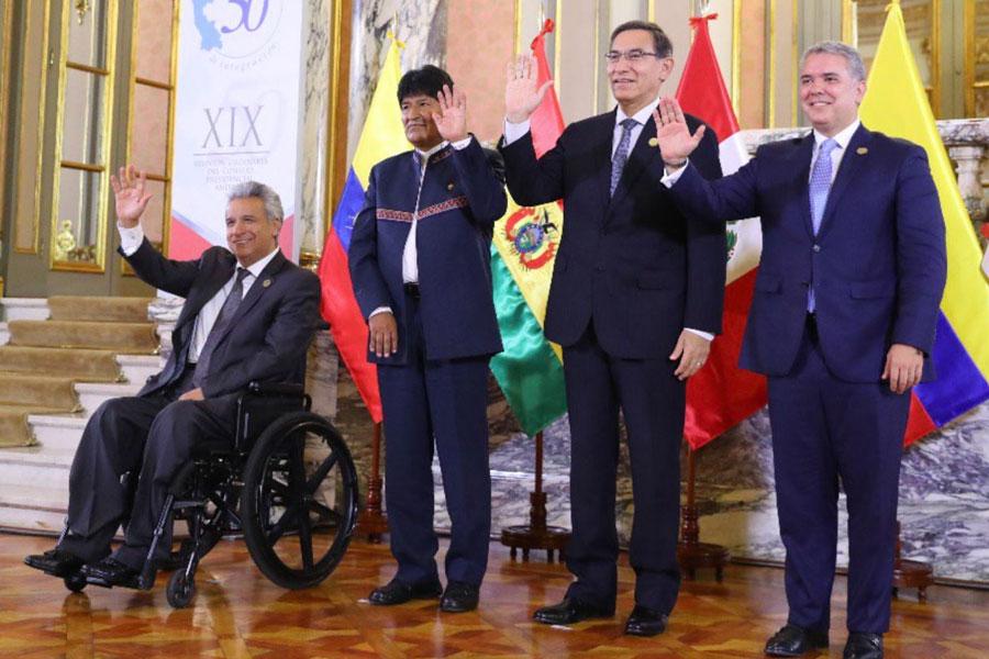 Comunidad Andina acuerda fortalecer comercio, interconexión energética y tecnología