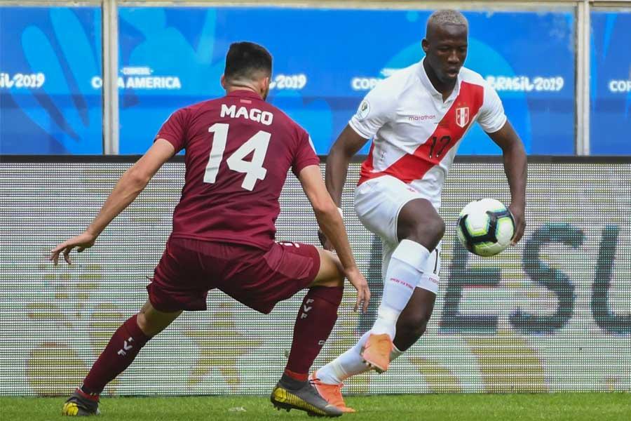 Perú empató sin goles con Venezuela en su debut en la Copa América