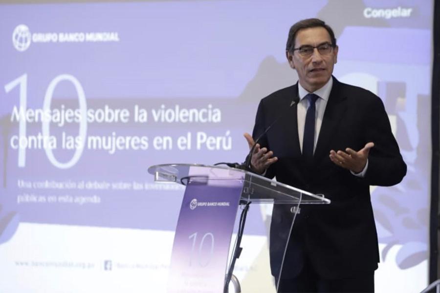 Presidente ratifica compromiso del gobierno en lucha contra violencia hacia la mujer