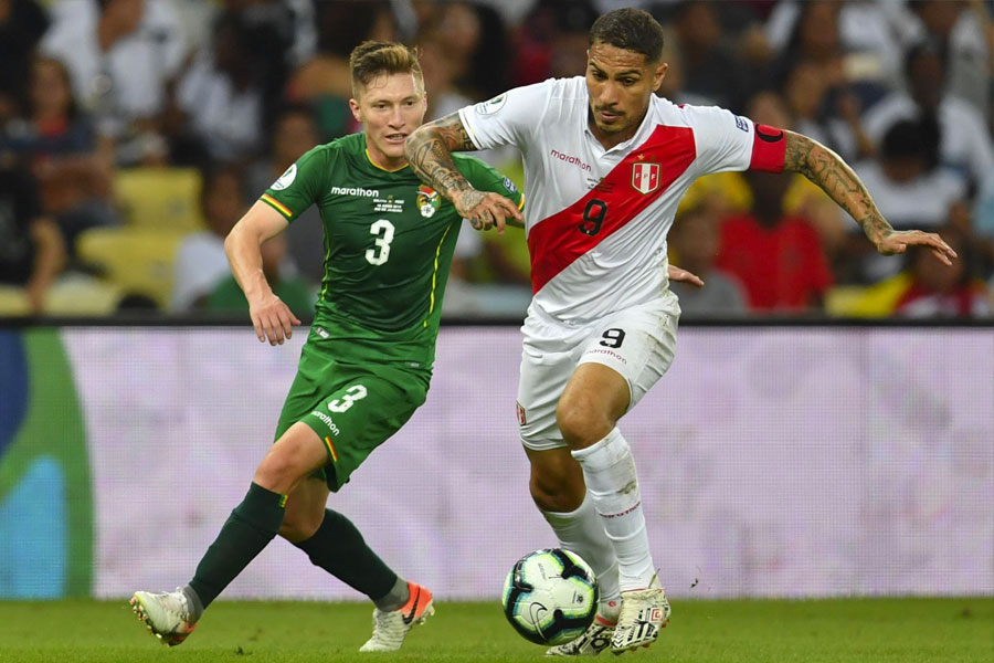 Copa América: Perú ganó 3-1 a Bolivia