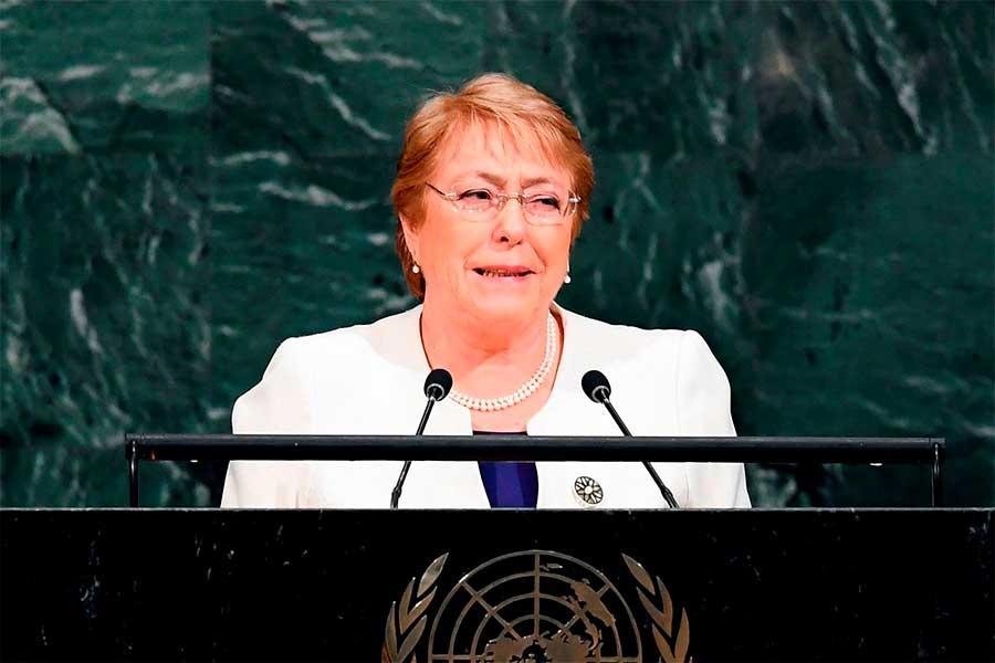 Bachelet inicia visita a una Venezuela devastada por la crisis