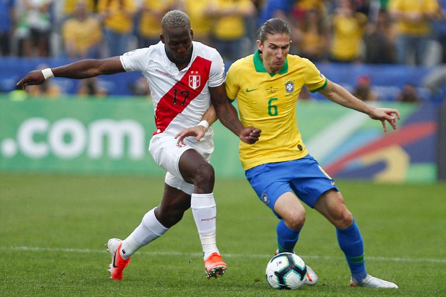 Copa América: Perú cayó ante Brasil por 5 a 0