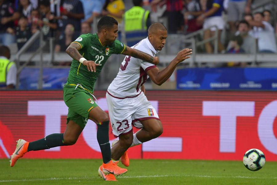 Copa América: Venezuela venció 3-1 a Bolivia y pasó a cuartos de final