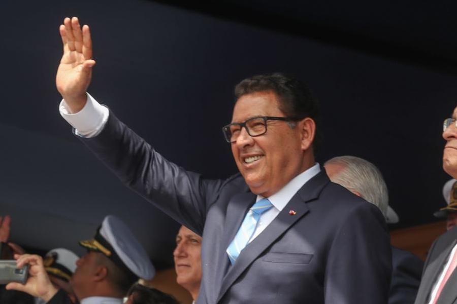Ministro de Defensa José Huerta y su amplia trayectoria