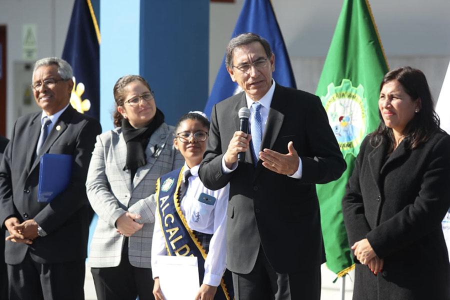 Presidente Vizcarra inaugura infraestructura en Universidad Nacional de Moquegua