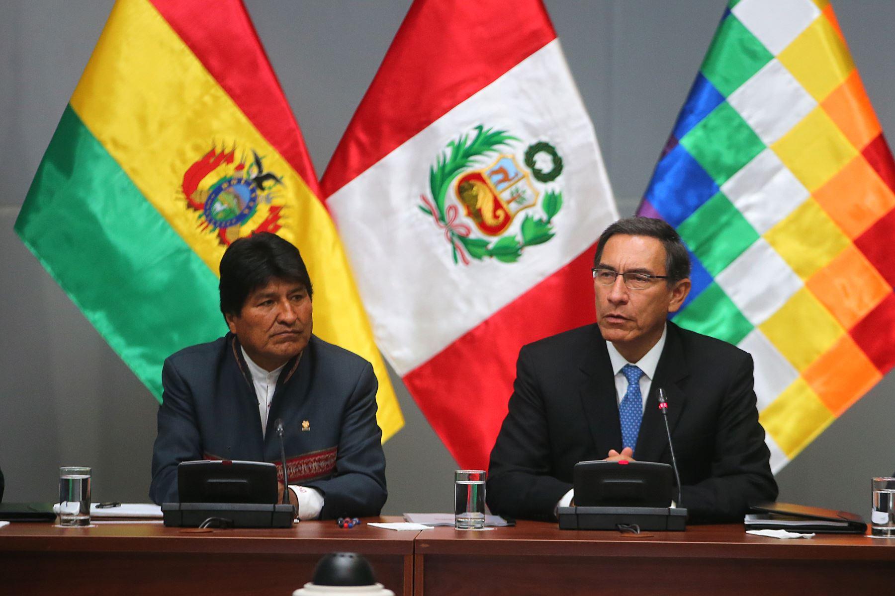 Gabinete Binacional Perú-Bolivia es resultado de un año de trabajo