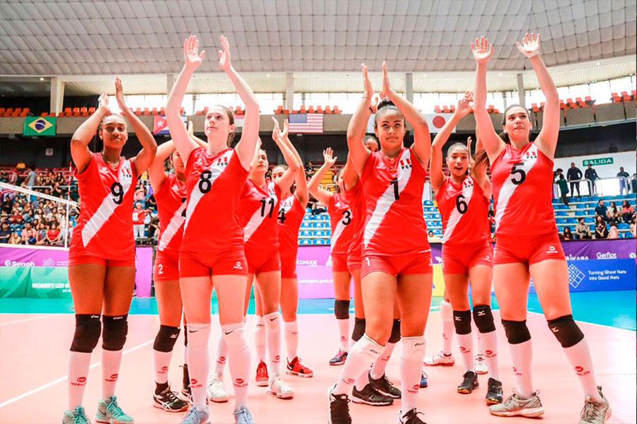 Mundial de Voleibol U20: Perú cayó 3-0 ante Polonia
