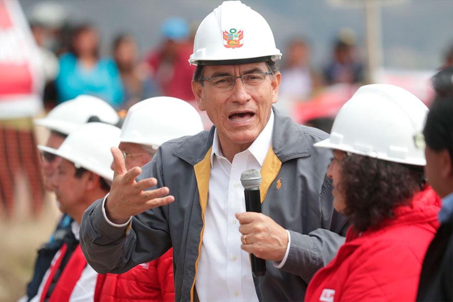 Presidente Vizcarra: Gobierno tiene la mayor disposición al diálogo por Tía María