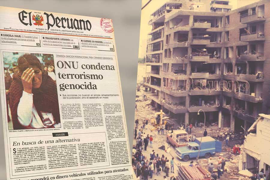 Así lo contamos: a 27 años del atentado en Tarata