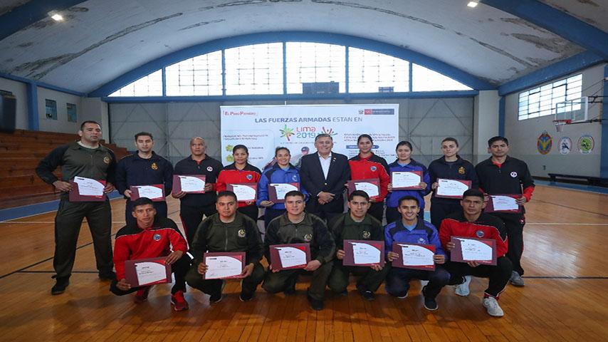 Lima 2019: reconocen a deportistas militares clasificados a Juegos Panamericanos
