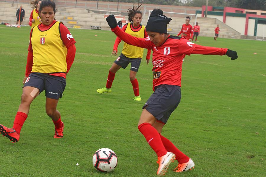 Lima 2019: así entrena nuestra selección de fútbol femenino