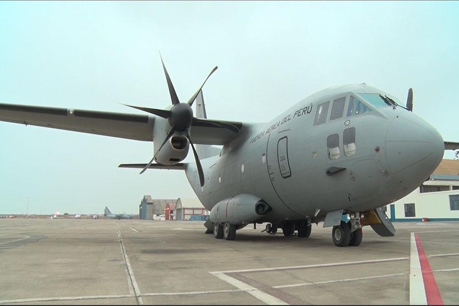 Conoce el avión FAP C-27J Spartan y su importante misión