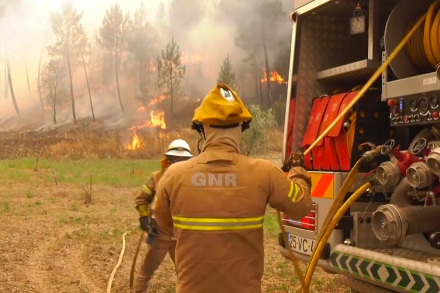 Se reanudan los incendios en Portugal a causa de los vientos
