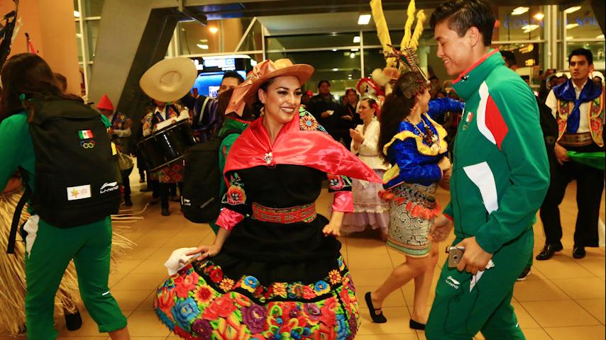 Lima 2019: así recibieron a México en el aeropuerto Jorge Chávez