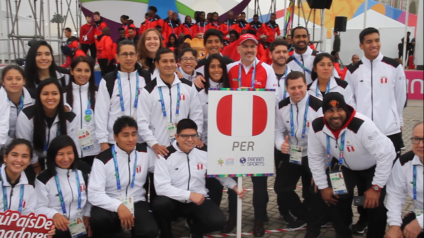 Lima 2019: bienvenida a delegación peruana en Villa Panamericana