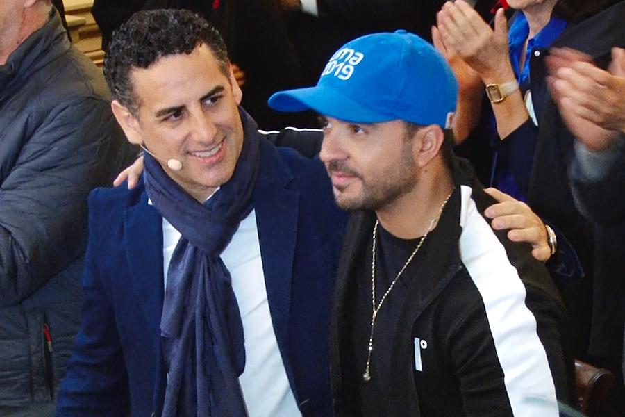 Juan Diego Flórez y Luis Fonsi: así fue primer encuentro en Lima
