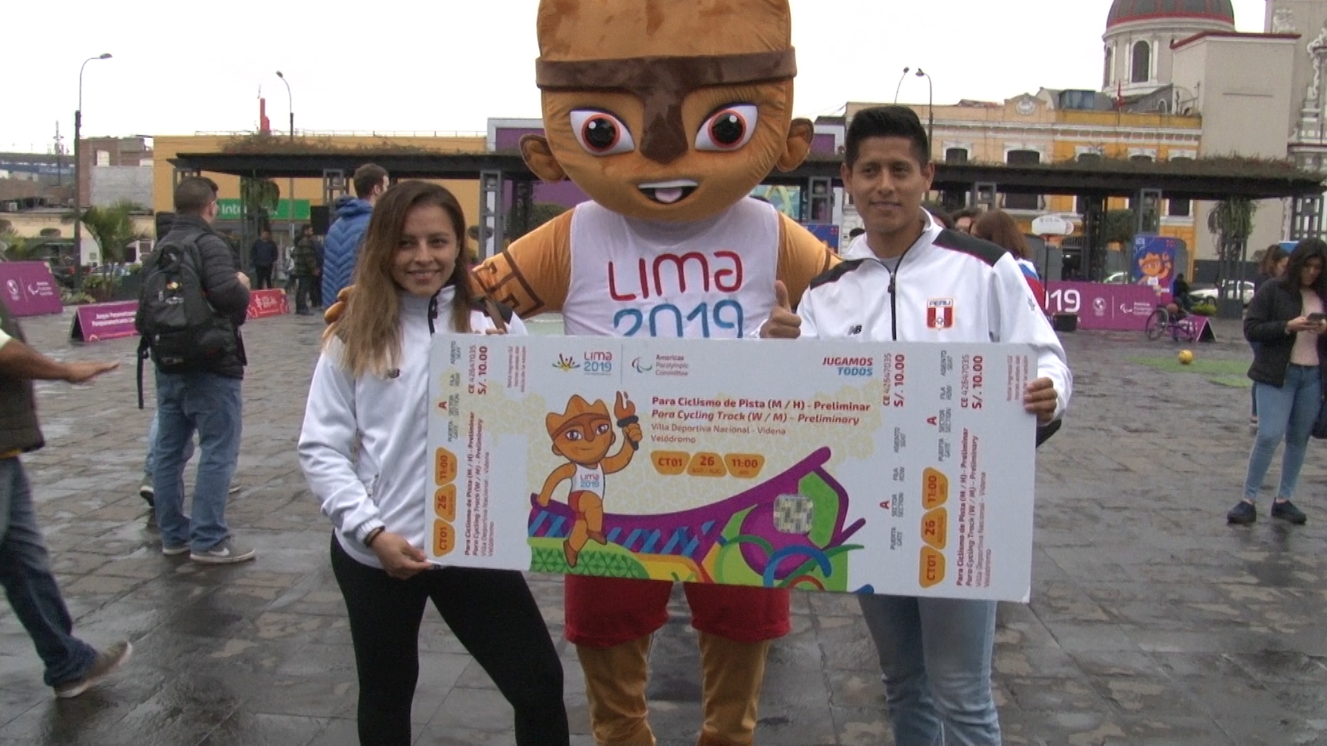Lima 2019: medallistas apoyan a los Parapanamericanos