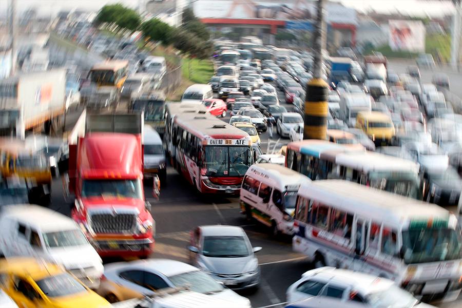 Pantallas gigantes informarán sobre tráfico en Lima
