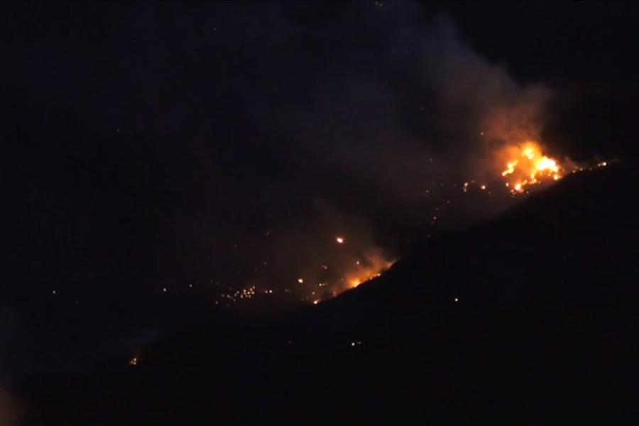 Incendio en Canarias: mengua incendio que golpea zonas protegidas