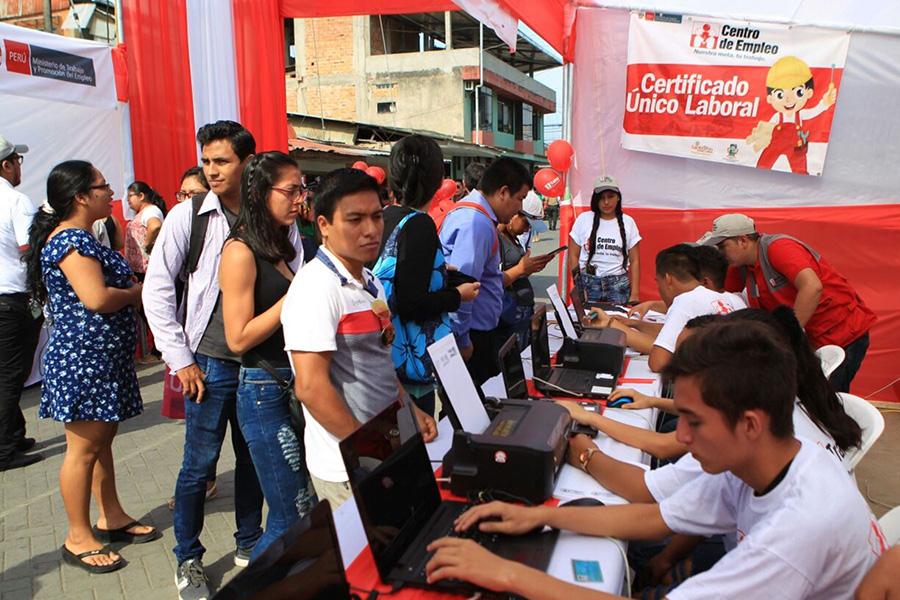 Semana del Empleo ofrece más de 9,000 puestos de trabajo para jóvenes