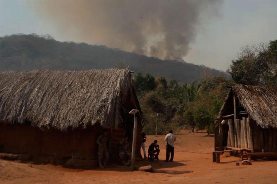 Evo Morales acepta ayuda internacional para controlar incendios forestales en Bolivia