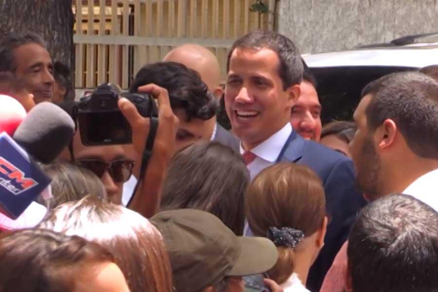 Colombia: gobierno colombiano facilitó la entrada de Guaidó al país