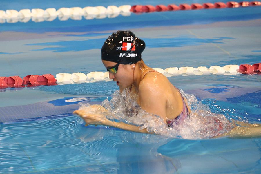 Juegos Escolares 2019: campeona en natación busca revalidar su título nacional