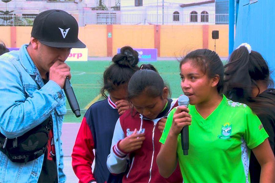 Juegos Escolares 2019: rapean en asháninka y matsigenka