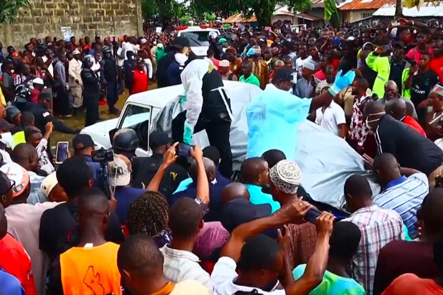 Decenas de menores muertos en un incendio en escuela coránica en Liberia