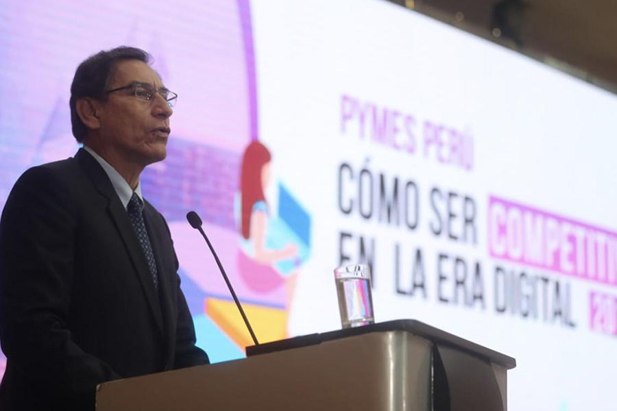 Presidente Vizcarra: la construcción de un país justo será posible apoyando a las pequeñas y medianas empresas