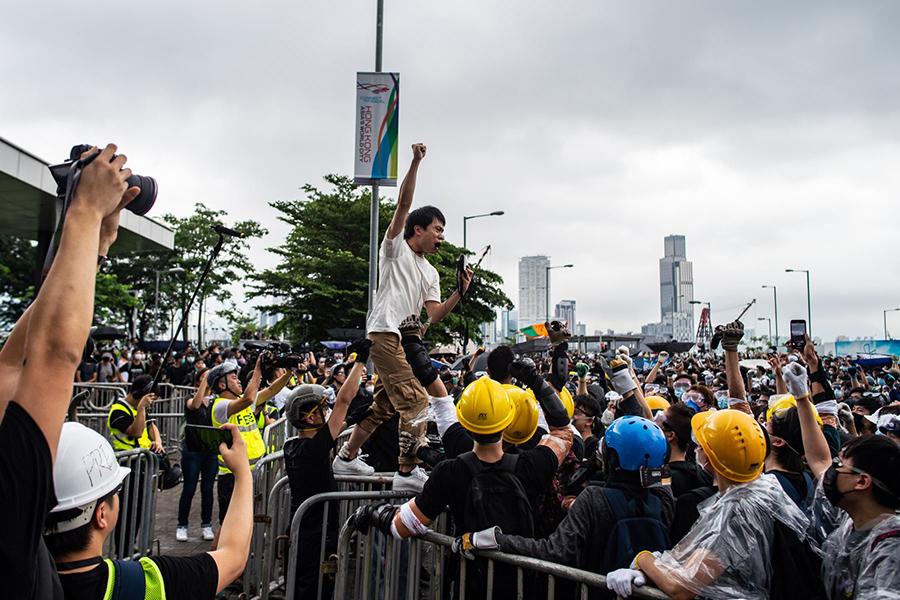 Protestas prodemocráticas en Hong Kong se mantienen tras 16 semanas