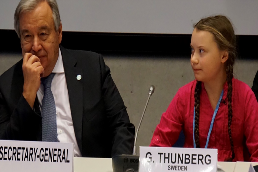 Jóvenes luchan por el medio ambiente en las Naciones Unidas
