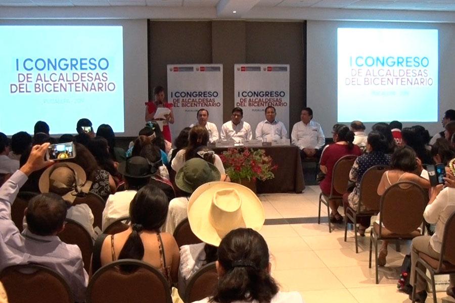Alcaldesas del Bicentenario se reunieron en I Congreso