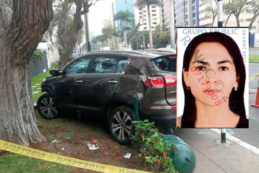 Accidente en Javier Prado: cámara de seguridad captó otro ángulo