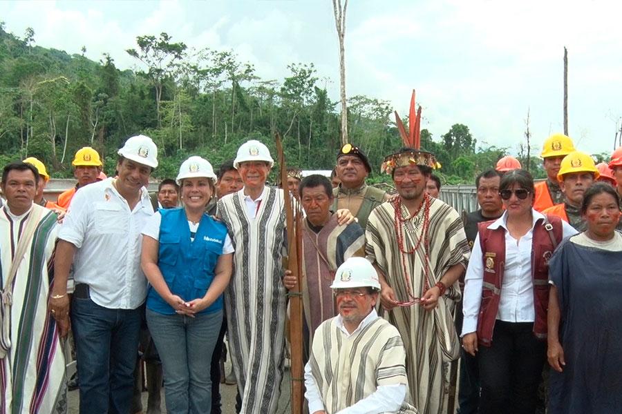 Vraem: comisión multisectorial atiende a comunidades nativas de Satipo