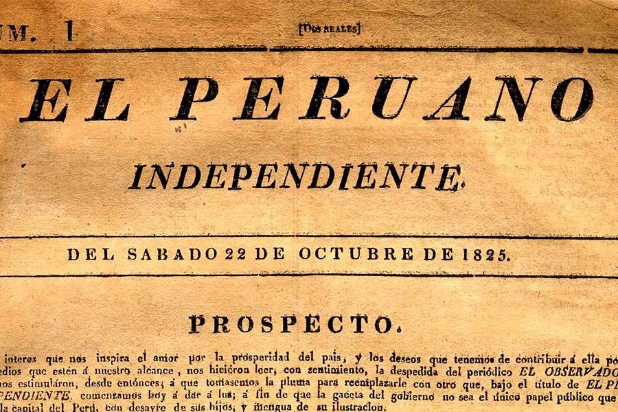 Así lo contamos: El Peruano se fundó hace 194 años