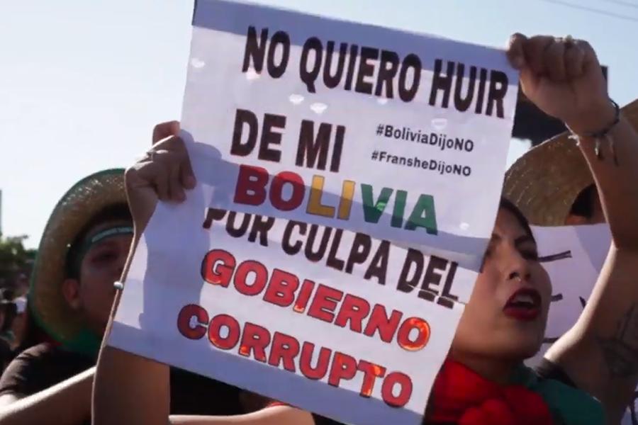 Bolivia pide auditoria electoral a la OEA