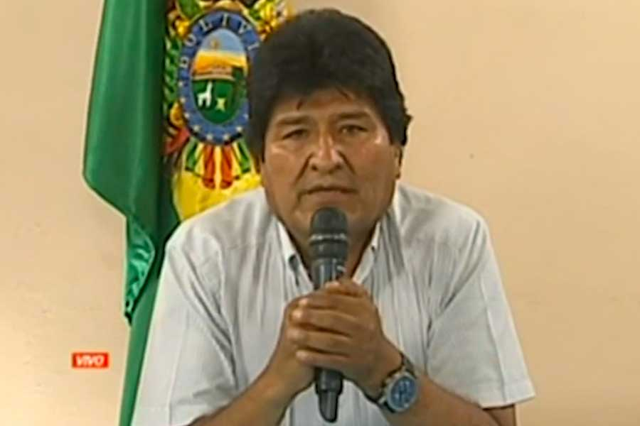 Bolivia: Evo Morales renunció tras perder el apoyo de militares