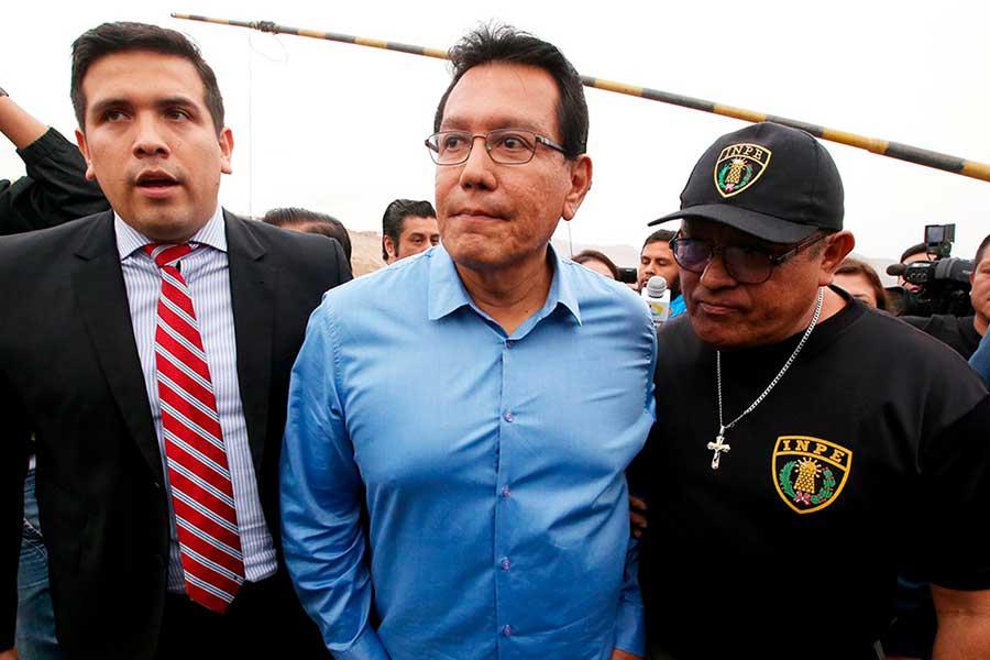 Félix Moreno fue capturado por la policía