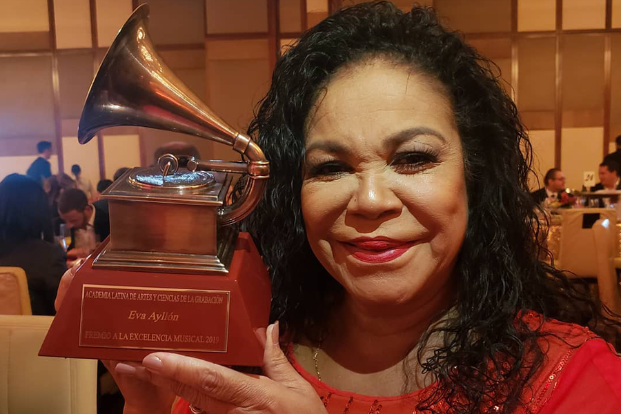 Eva Ayllón emocionada por Latin Grammy y palabras de Gian Marco