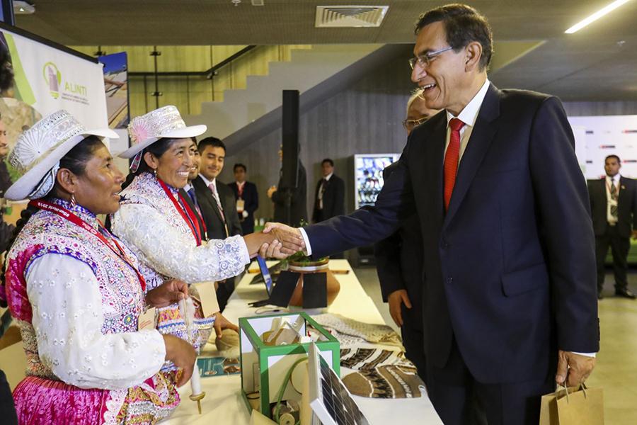 Presidente Martín Vizcarra anuncia mayor inversión a agricultura familiar