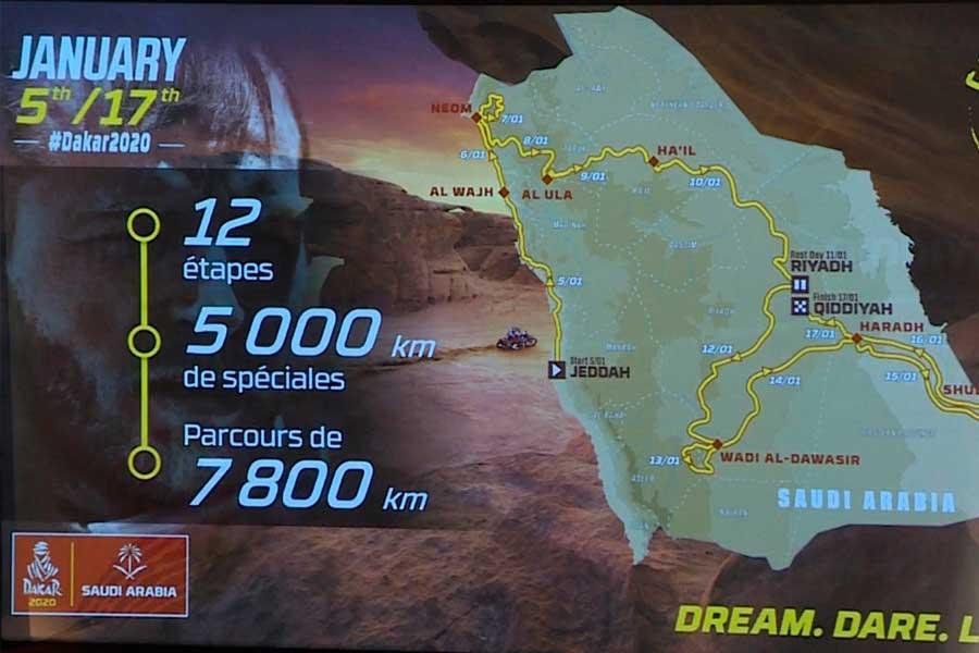 """Dakar-2020, un controvertido """"nuevo desafío"""" en Arabia Saudí"""