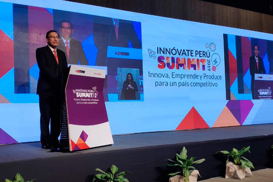 Presidente Vizcarra anuncia incremento sustancial de presupuesto para innovación